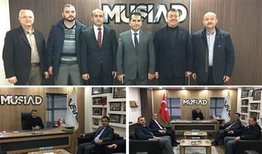 İl Emniyet Müdüründen MÜSİAD'a Ziyaret