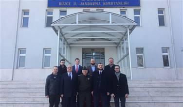 Alay Komutanı Albay Yılmaz Özdemir?i Ziyaret ettik.