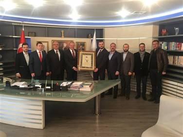 Belediye Başkanı Sayın Mehmet Keleş?i ziyaret ettik