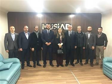 Düzce Üniversitesi Rektörü Prof. Dr. Nigar Demircan Çakar Şubemizi Ziyaret Etti.