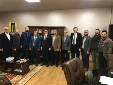 Adalet Komisyonu Başkanı Ahmet Göztaş'ı Ziyaret Ettik.