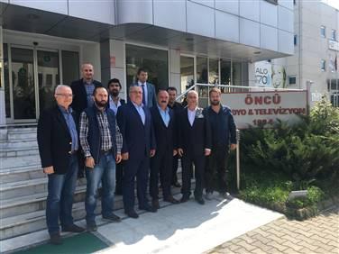 MÜSİAD Yönetim Kurulundan ÖNCÜ RTV'ye Ziyaret